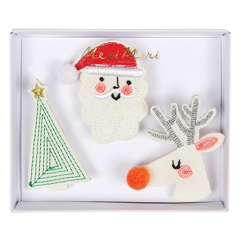 Broches - Noël