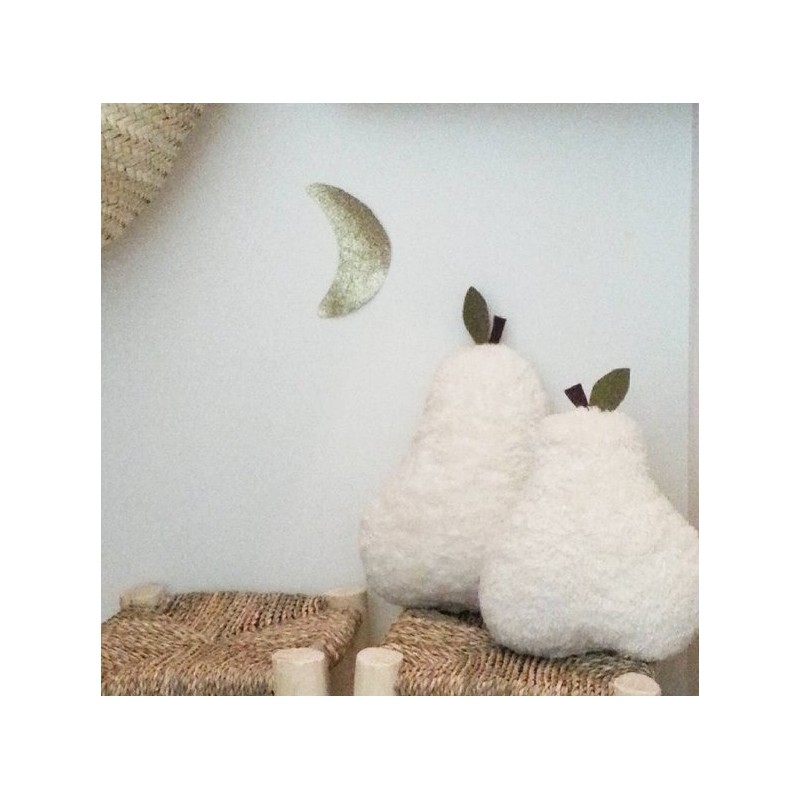 Coussin moumoute - Teddy pear