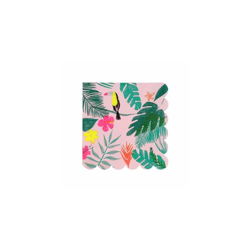 Grandes serviettes - Tropical