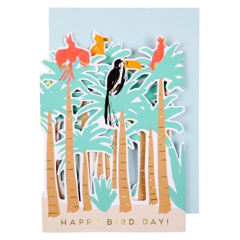 Carte - Oiseaux tropicaux