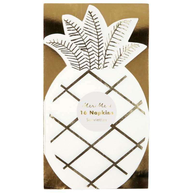 Serviettes - Ananas