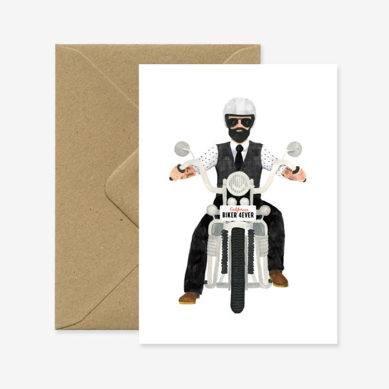 Carte Biker for ever