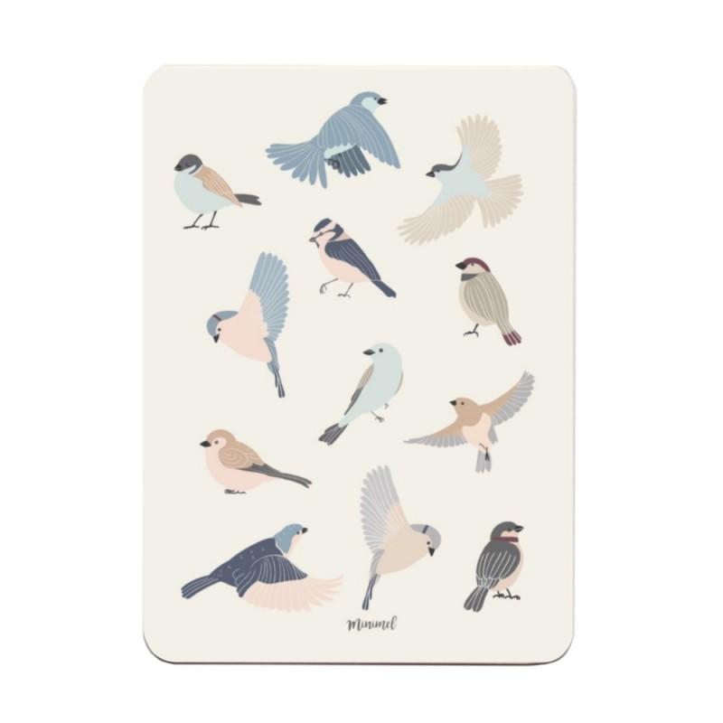 Carte postale - Birds