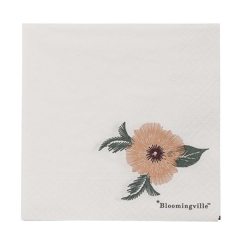 Petites serviettes - Fleurs
