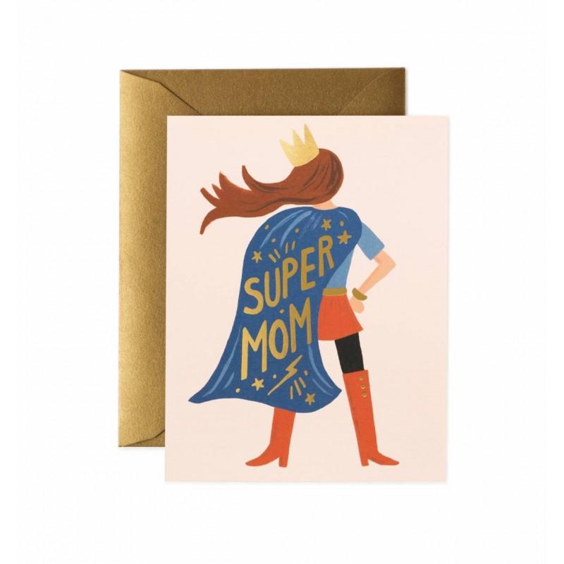 Carte - Super Mom