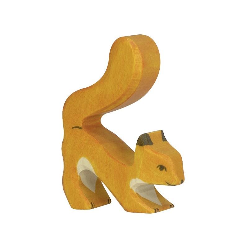 Figurine en bois - Ecureuil
