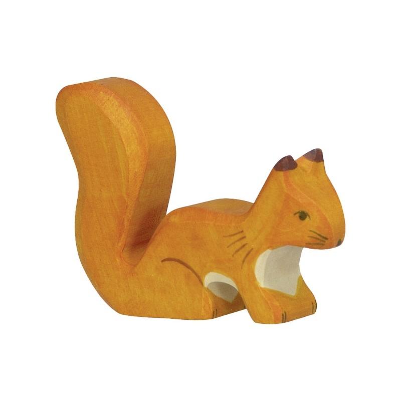 Figurine en bois - Petit ecureuil