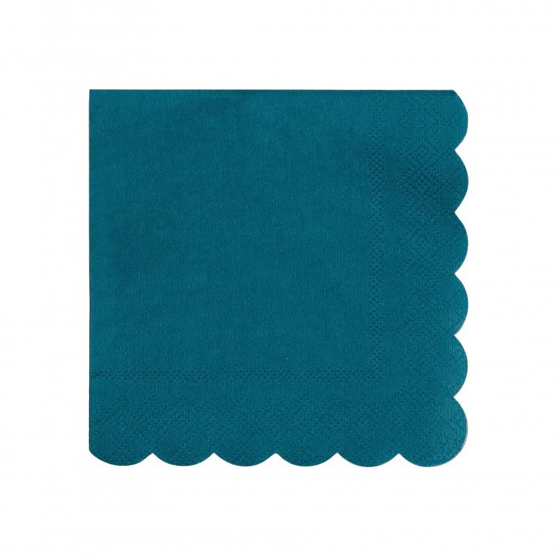 Petites serviettes - Vert foncé