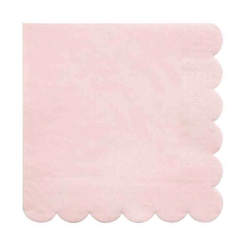 Grandes serviettes - Rose
