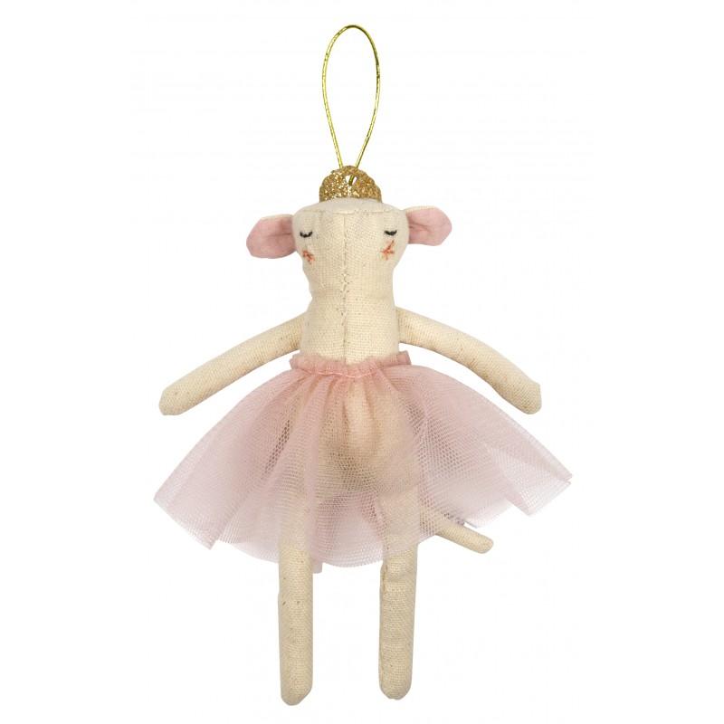 Décoration de Noël - Petite souris danseuse