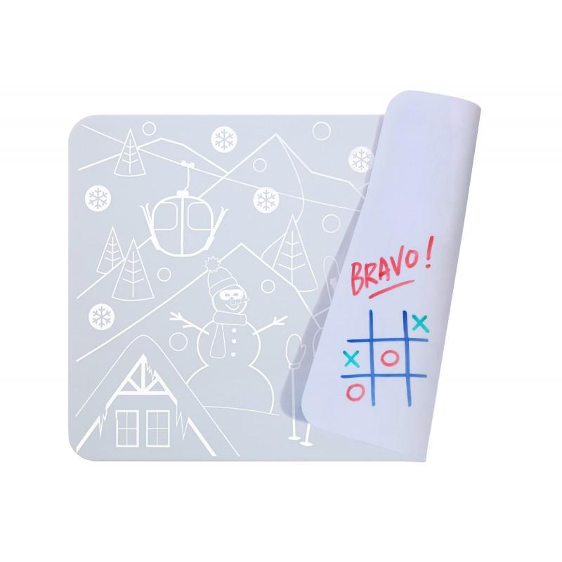 Set de table mini play réversible- Snow