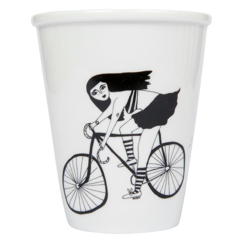 Tasse Le vélo