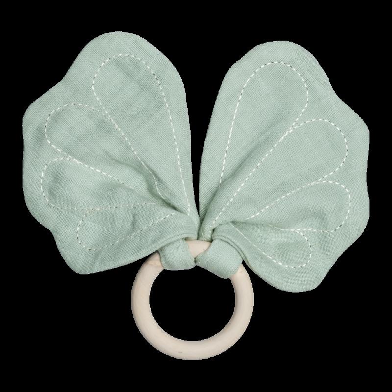 Anneau de dentition Papillon - Vert