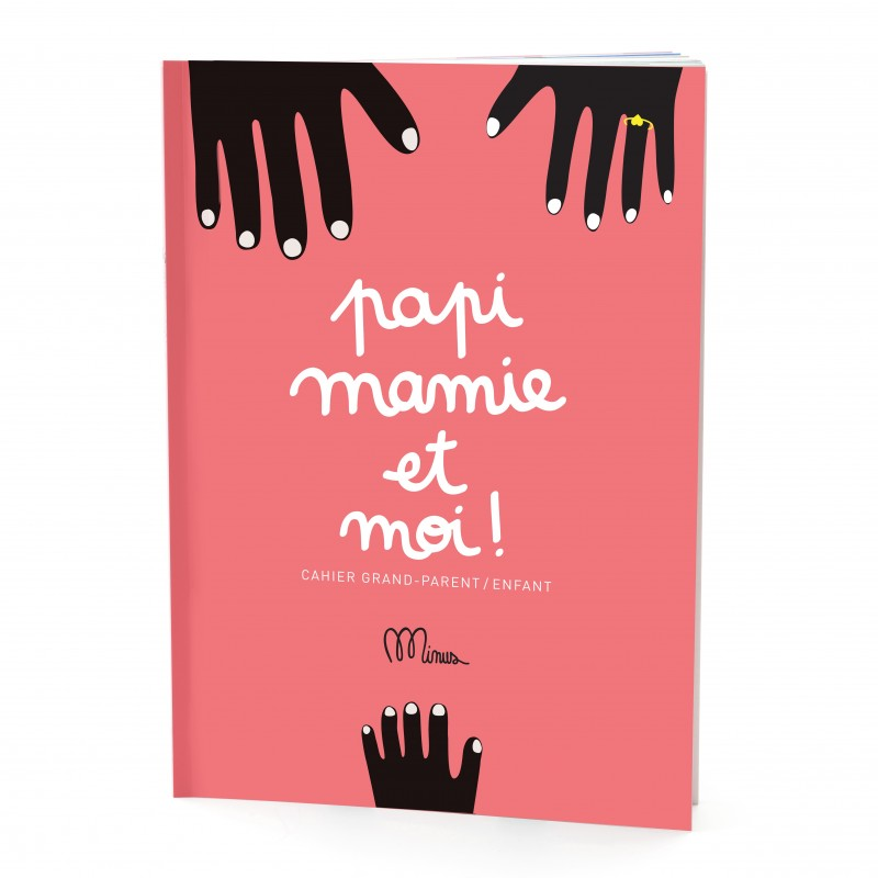 "Cahier ""Papi, mamie et moi"""