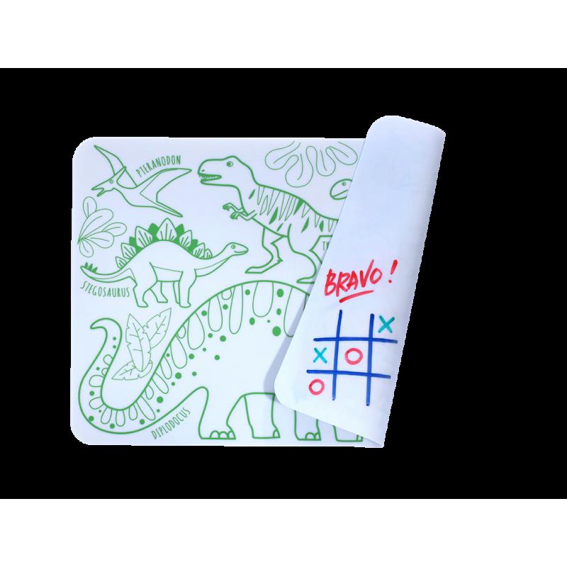 Set de table mini play réversible- Dino