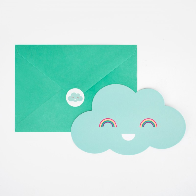 Cartons d'invitation Nuage