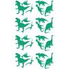 Stickers Dinos - Vert