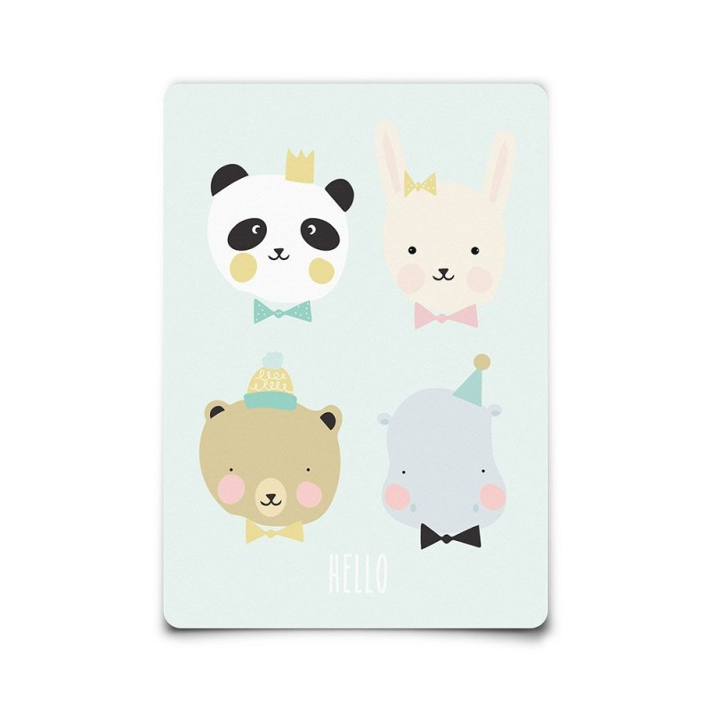 Carte postale Lovely animals