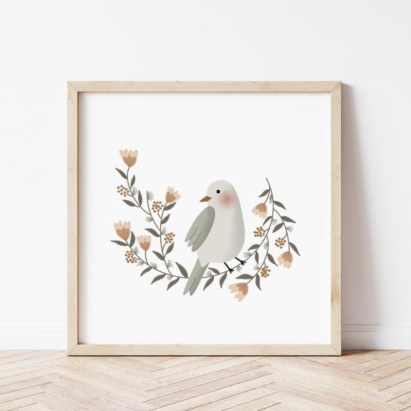 Affiche - La couronne de l'oiseau