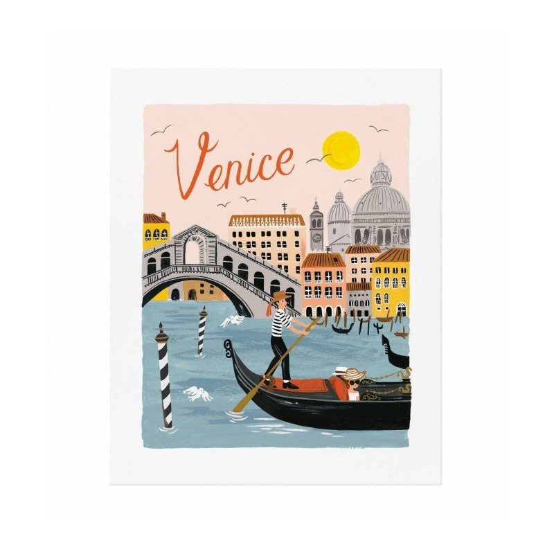 Affiche 20 x 25cm - Venise