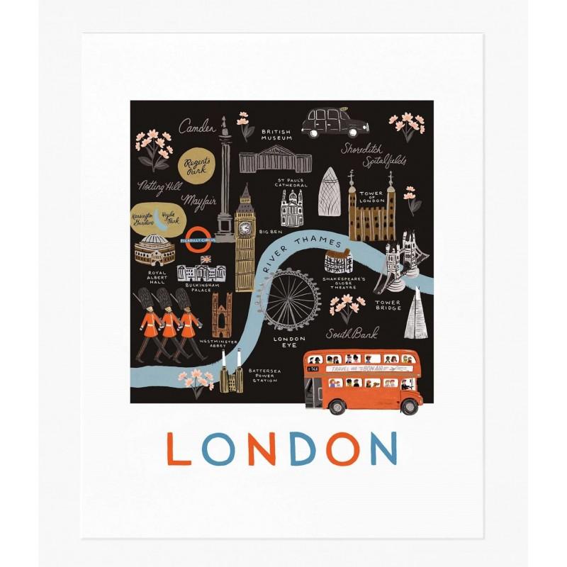 Affiche 28 x 35 cm - Londres