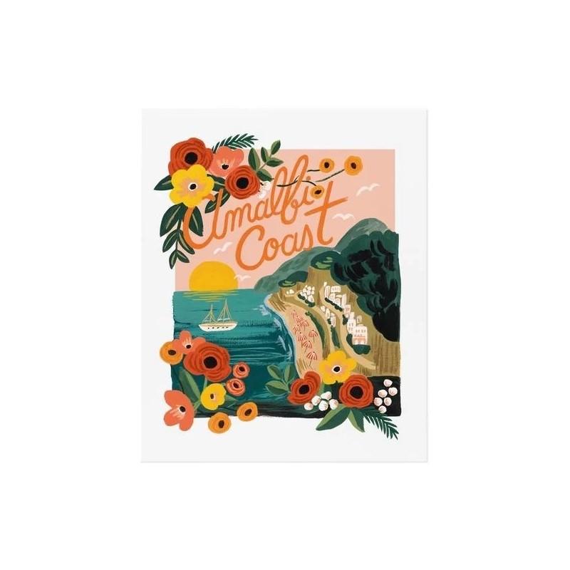 Affiche 28 x 35 cm - Amalfi coast