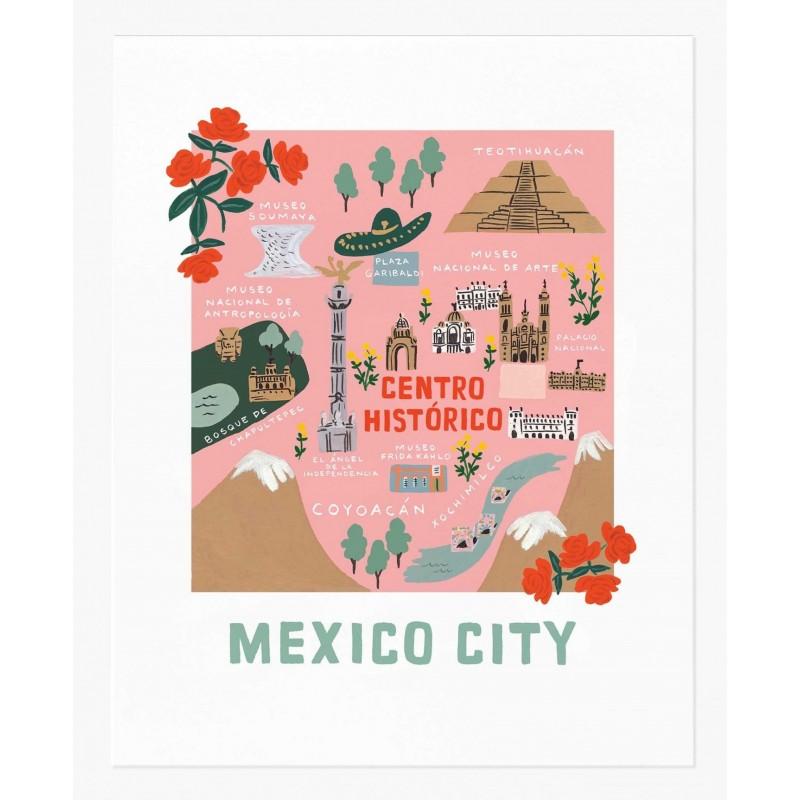 Affiche 28 x 35 cm - Mexico
