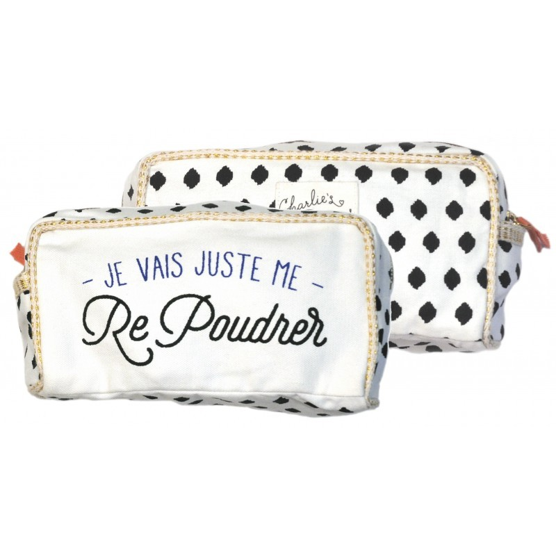 "Trousse ""Re poudrer"""
