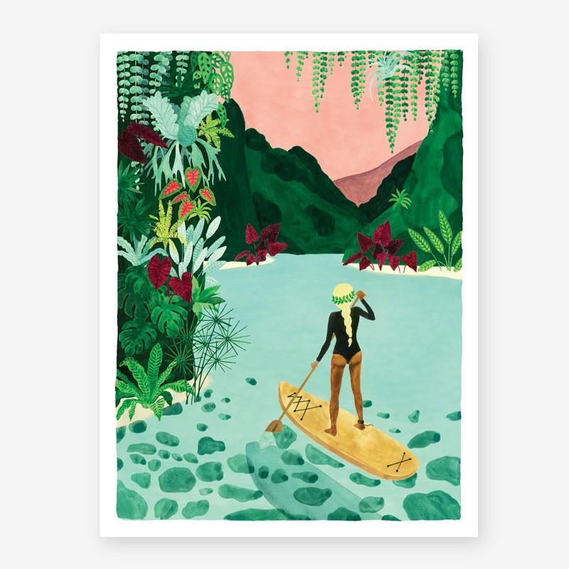 Affiche Paddle - PM