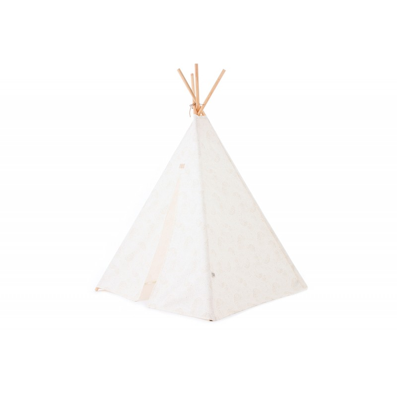 Tipi gold bubble - blanc