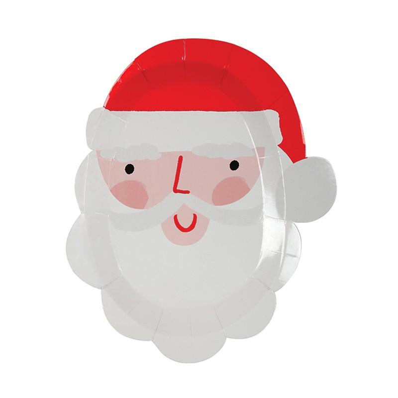 Assiettes -  Père Noël