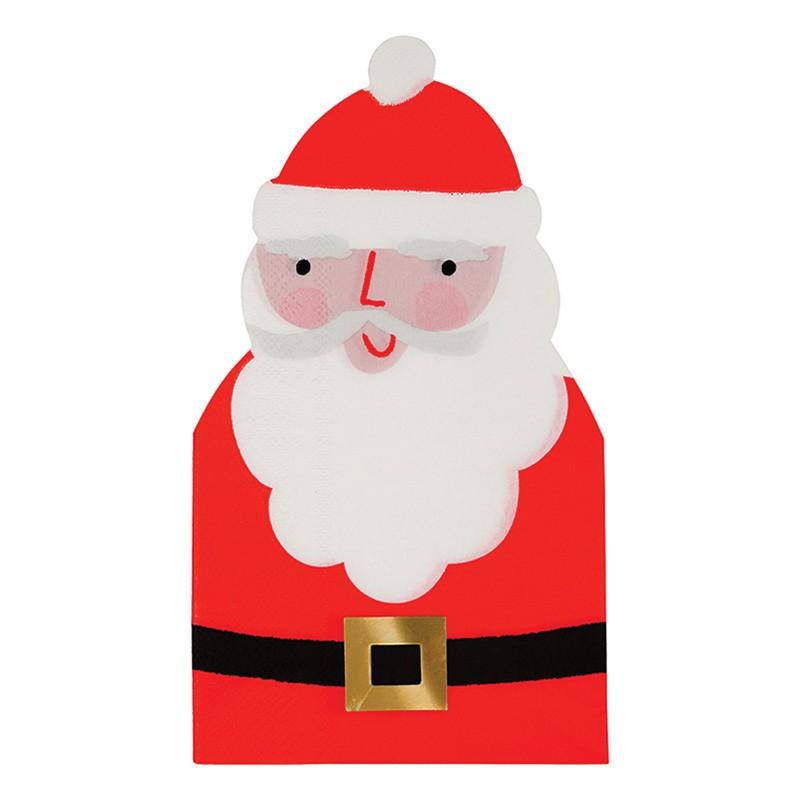 Serviettes -  Père Noël