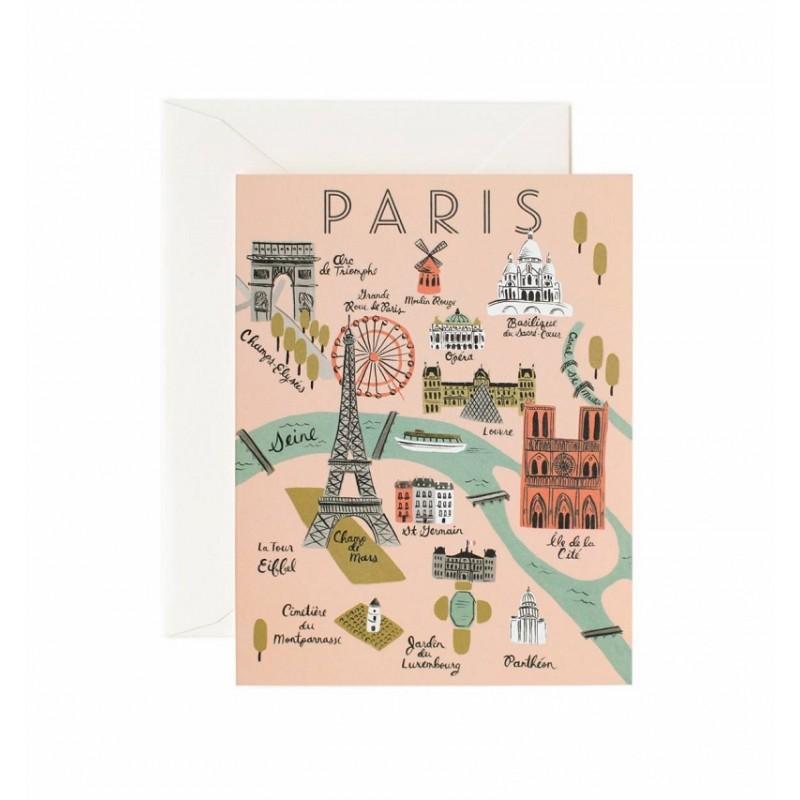 Carte double - Paris