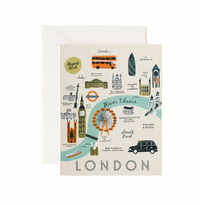 Carte double - London map