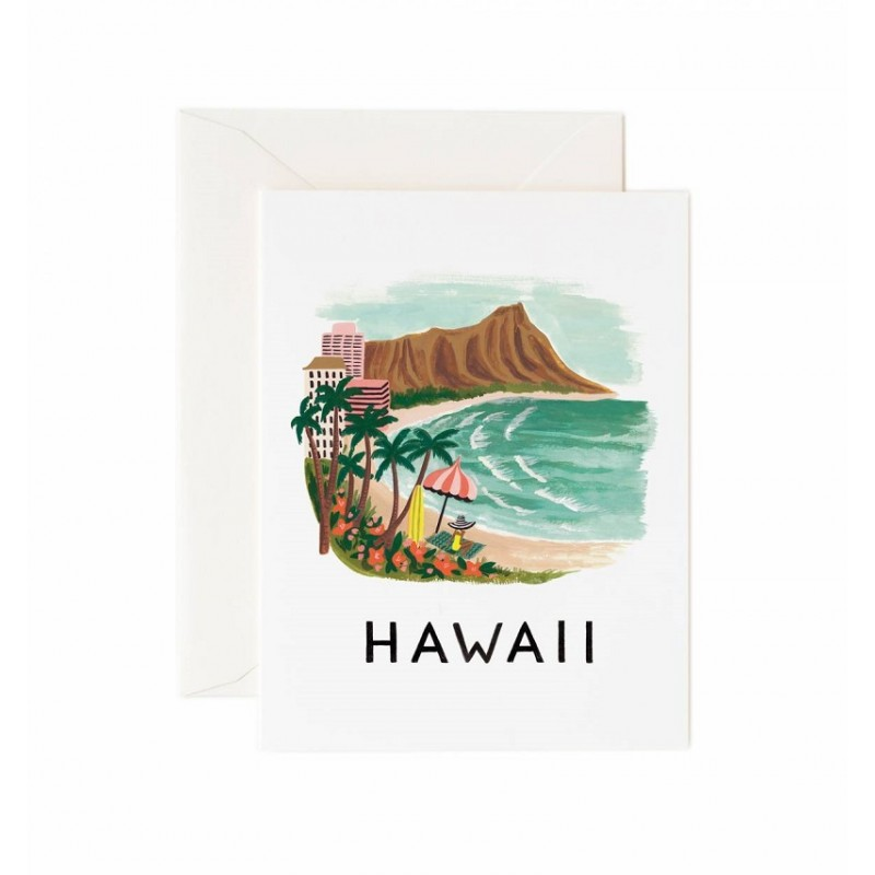 Carte double - Hawaii