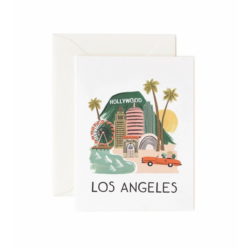 Carte double - Los Angeles